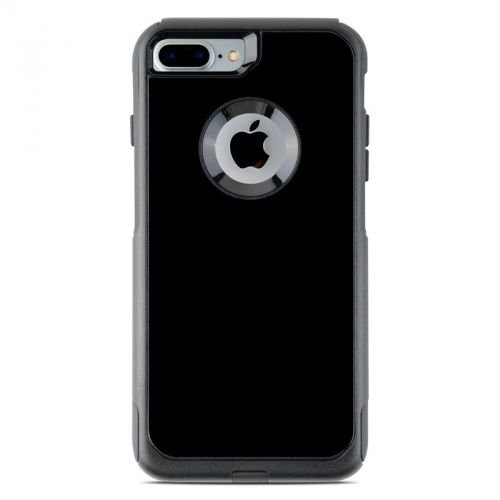 Solid State Black OtterBox Commuter iPhone 7 Plus Skin