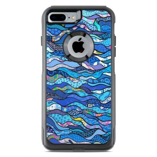 The Blues OtterBox Commuter iPhone 7 Plus Skin