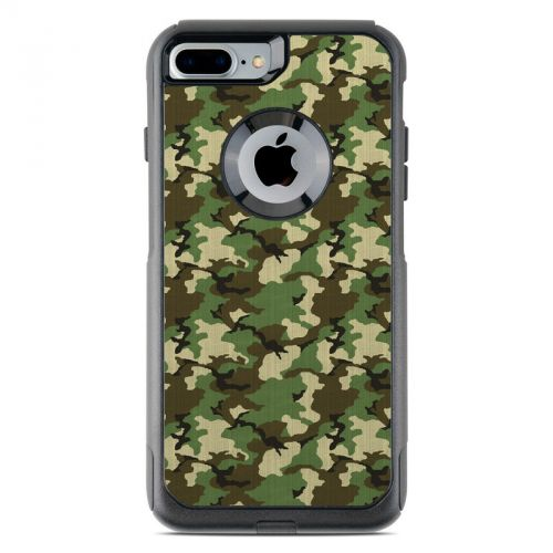 Woodland Camo OtterBox Commuter iPhone 7 Plus Skin