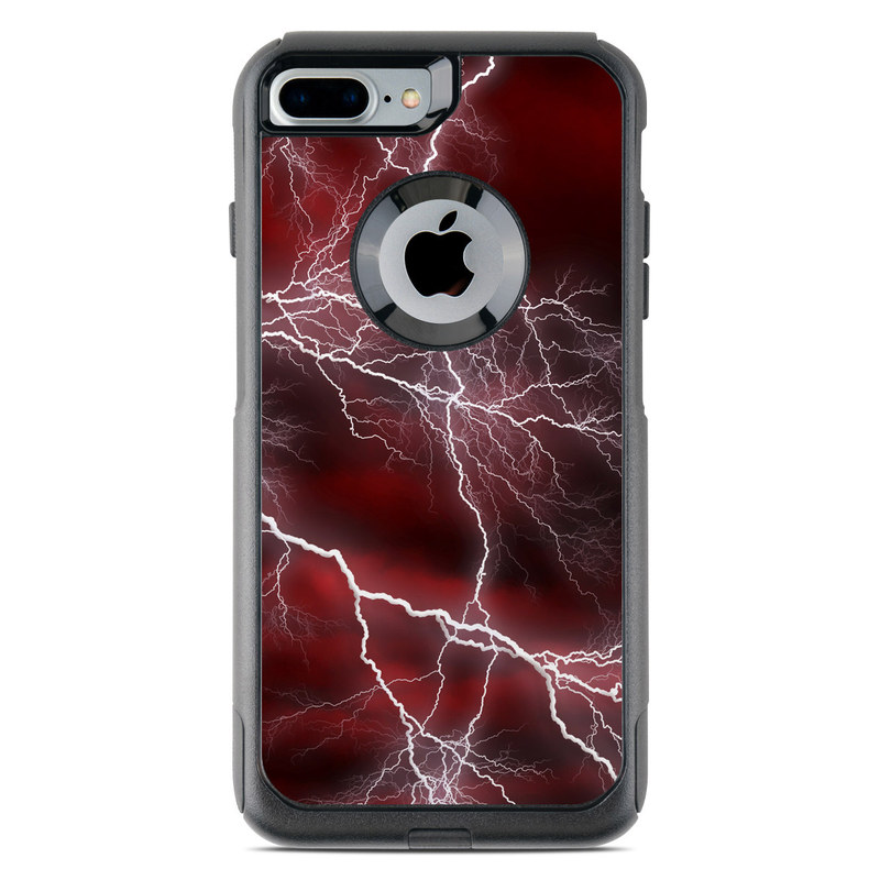 Apocalypse Red OtterBox Commuter iPhone 7 Plus Skin