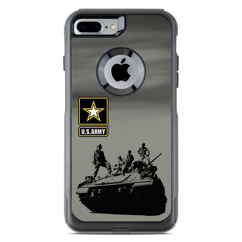 best service 62921 5f2a6 Army Troop OtterBox Commuter iPhone 8 Plus Case Skin