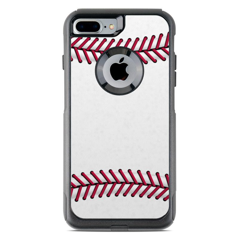 buy online ec3b5 8e6db Baseball OtterBox Commuter iPhone 8 Plus Case Skin