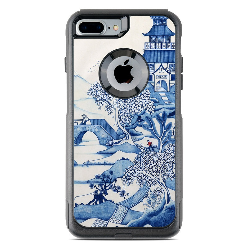 Blue Willow OtterBox Commuter iPhone 7 Plus Skin
