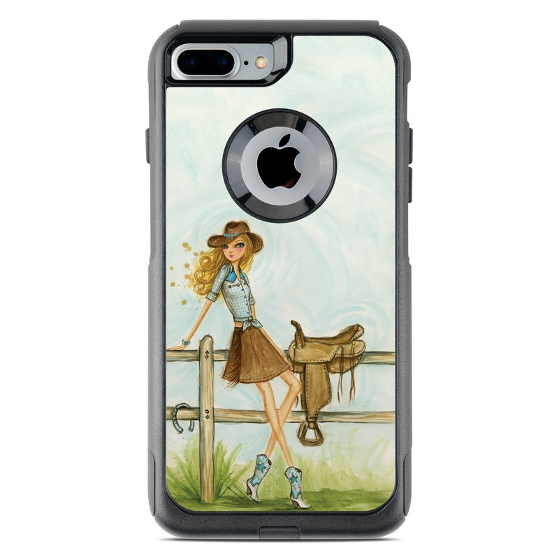 Cowgirl Glam OtterBox Commuter iPhone 7 Plus Skin