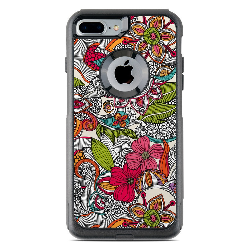 Doodles Color OtterBox Commuter iPhone 7 Plus Skin