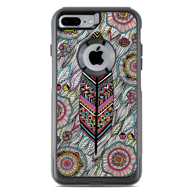 Dream Feather OtterBox Commuter iPhone 8 Plus Case Skin
