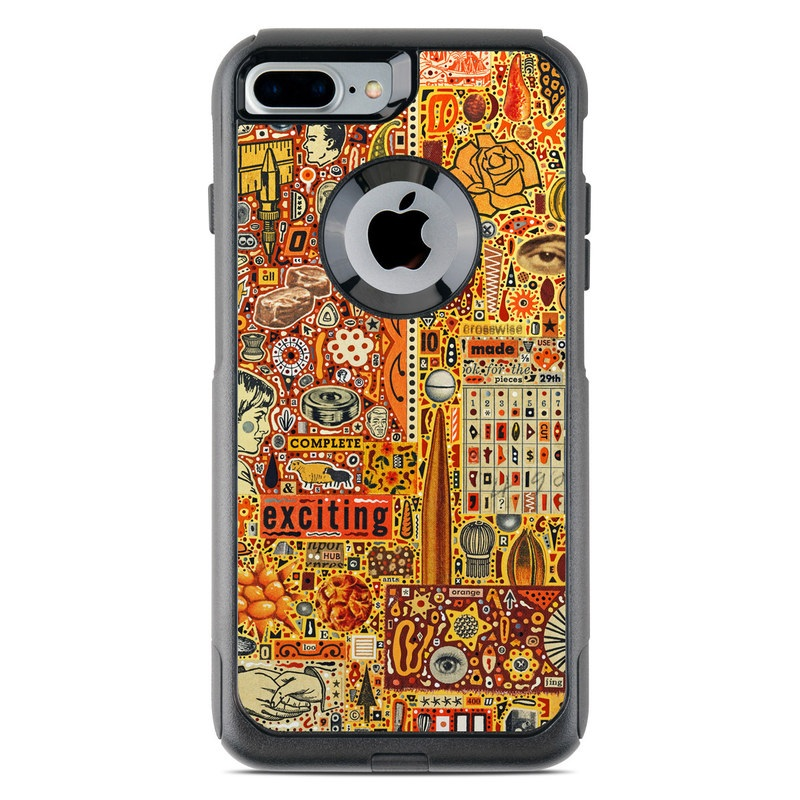 The Golding Time OtterBox Commuter iPhone 8 Plus Case Skin