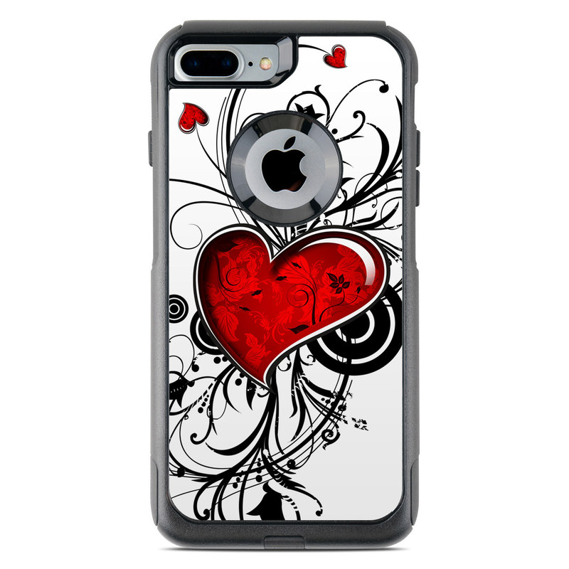 My Heart OtterBox Commuter iPhone 8 Plus Case Skin