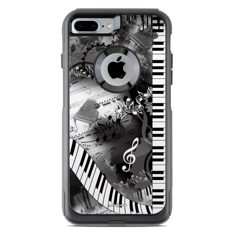 Piano Pizazz OtterBox Commuter iPhone 8 Plus Case Skin