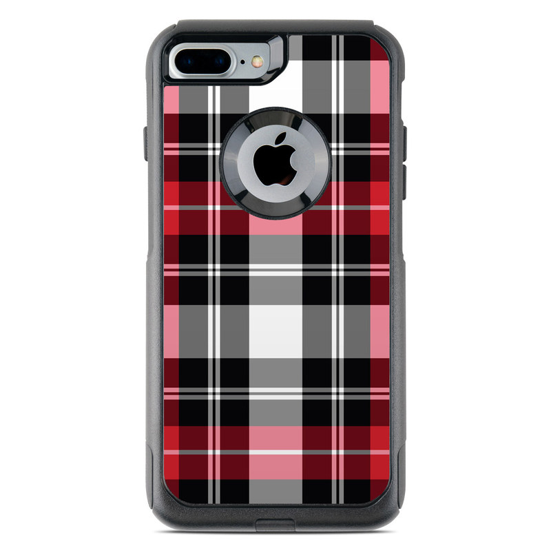 first rate 1516a b2132 Red Plaid OtterBox Commuter iPhone 8 Plus Case Skin