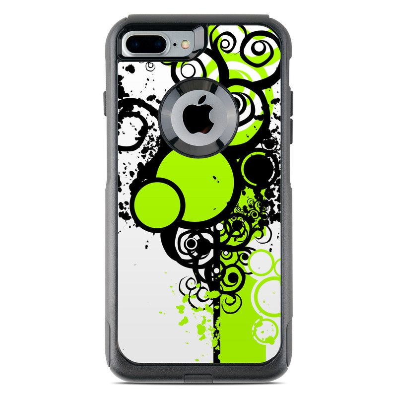 Simply Green OtterBox Commuter iPhone 8 Plus Case Skin