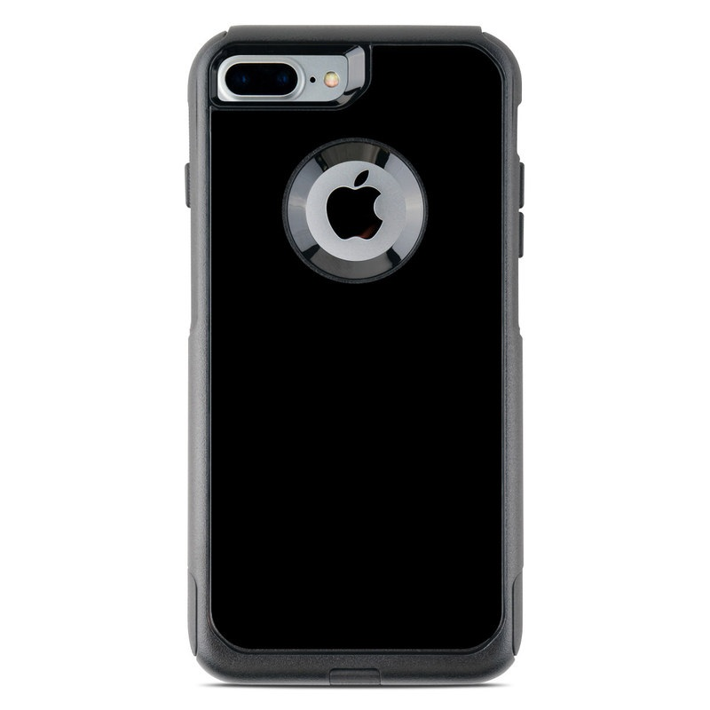 Solid State Black OtterBox Commuter iPhone 8 Plus Case Skin