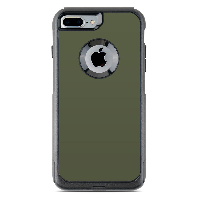 Solid State Olive Drab OtterBox Commuter iPhone 8 Plus Case Skin