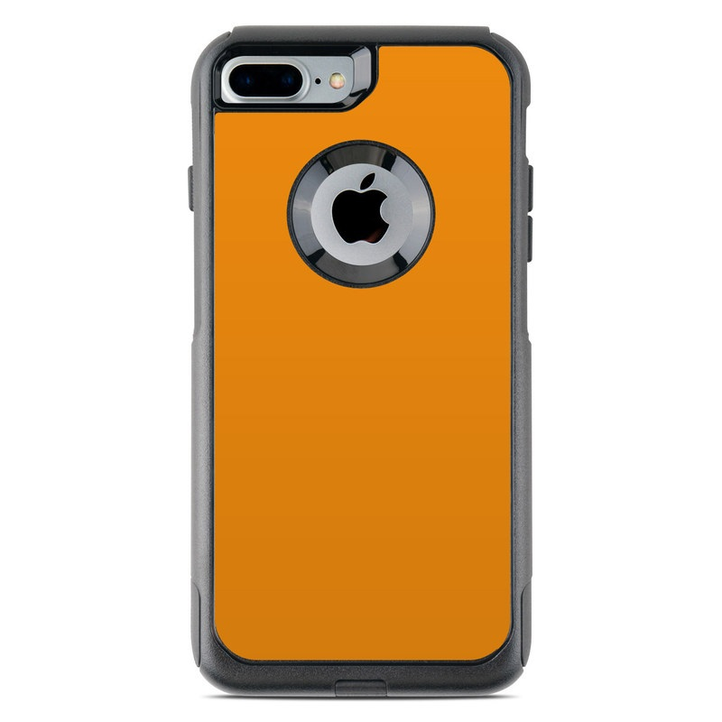 Solid State Orange OtterBox Commuter iPhone 7 Plus Skin