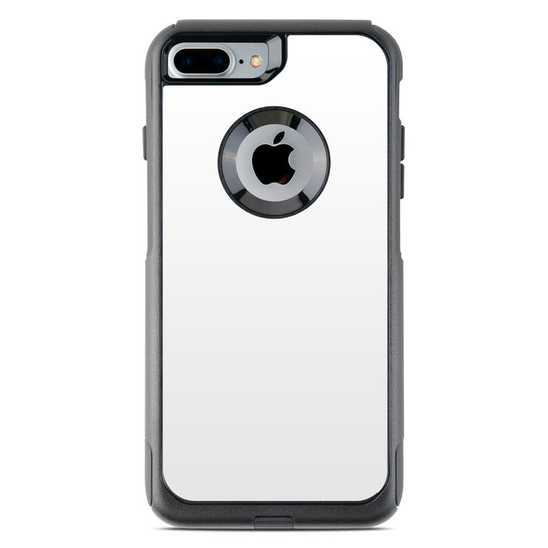 the best attitude c3d82 d787d Solid State White OtterBox Commuter iPhone 8 Plus Case Skin