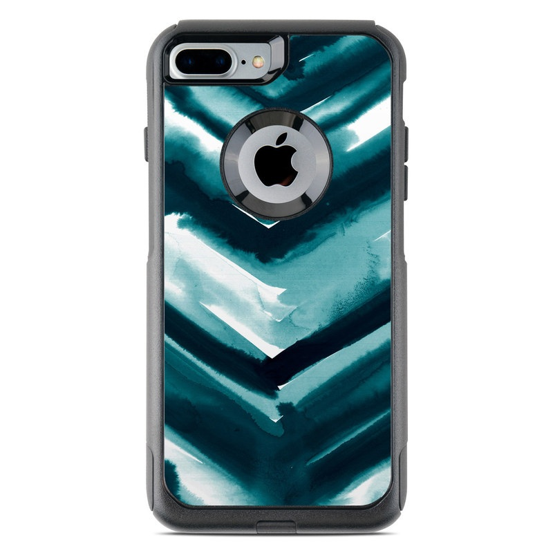 Watercolor Chevron OtterBox Commuter iPhone 7 Plus Skin