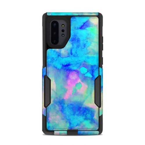 Electrify Ice Blue OtterBox Commuter Galaxy Note 10 Plus Case Skin