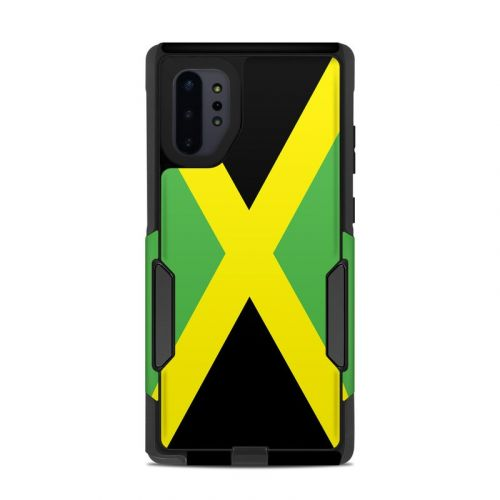 Jamaican Flag OtterBox Commuter Galaxy Note 10 Plus Case Skin