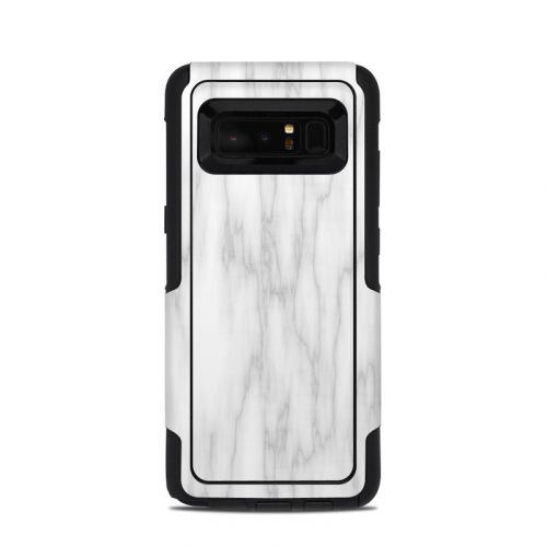 Bianco Marble OtterBox Commuter Galaxy Note 8 Skin