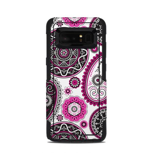 Boho Girl Paisley OtterBox Commuter Galaxy Note 8 Case Skin