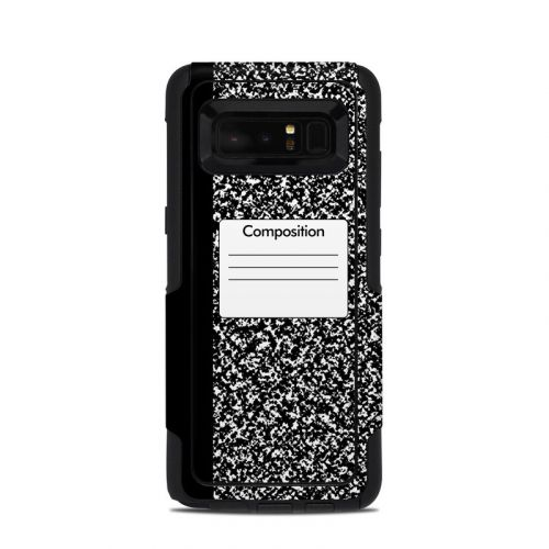 Composition Notebook OtterBox Commuter Galaxy Note 8 Skin