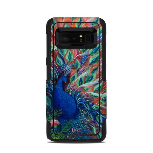 Coral Peacock OtterBox Commuter Galaxy Note 8 Case Skin