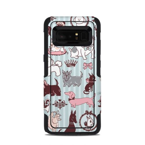 Doggy Boudoir OtterBox Commuter Galaxy Note 8 Skin