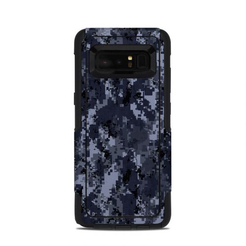 Digital Navy Camo OtterBox Commuter Galaxy Note 8 Skin