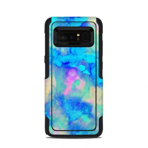 Electrify Ice Blue OtterBox Commuter Galaxy Note 8 Case Skin