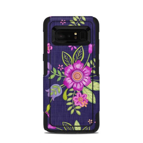 Folk Floral OtterBox Commuter Galaxy Note 8 Case Skin