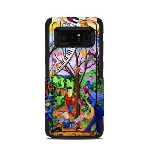 Happy Town Celebration OtterBox Commuter Galaxy Note 8 Case Skin