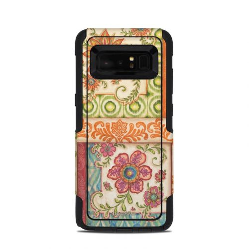Ikat Floral OtterBox Commuter Galaxy Note 8 Skin