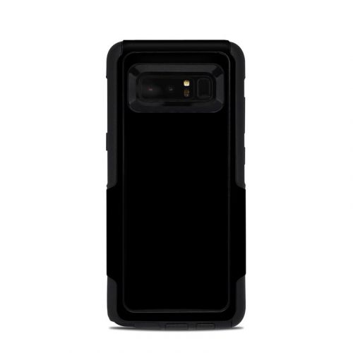 Solid State Black OtterBox Commuter Galaxy Note 8 Skin