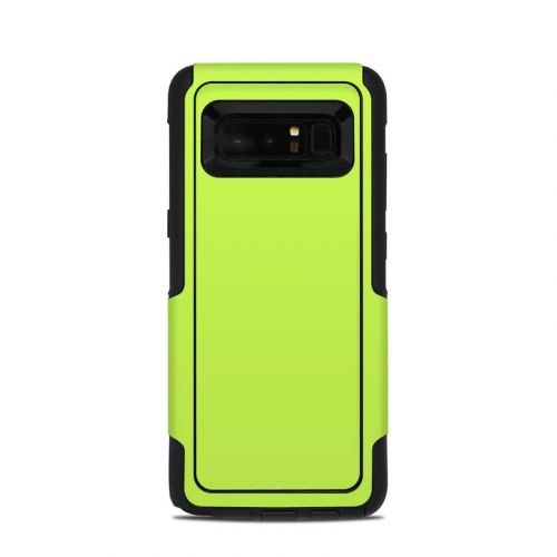 Solid State Lime OtterBox Commuter Galaxy Note 8 Skin