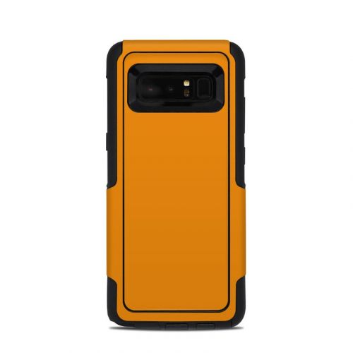 Solid State Orange OtterBox Commuter Galaxy Note 8 Skin
