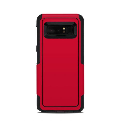 Solid State Red OtterBox Commuter Galaxy Note 8 Skin
