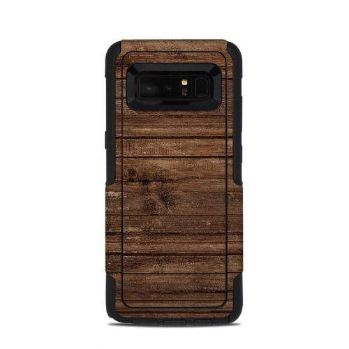 Stripped Wood OtterBox Commuter Galaxy Note 8 Skin