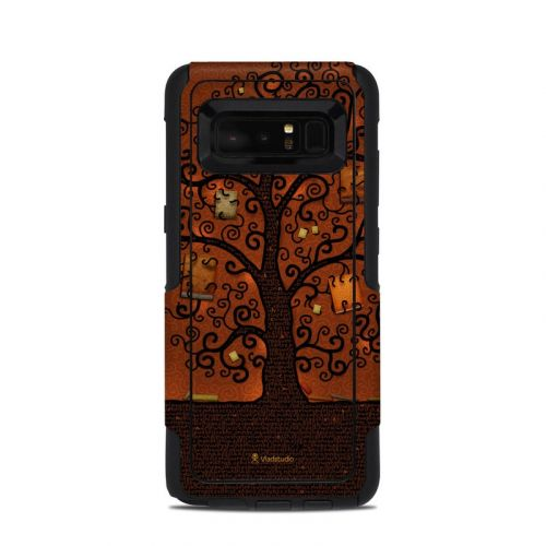 Tree Of Books OtterBox Commuter Galaxy Note 8 Skin