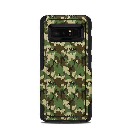 Woodland Camo OtterBox Commuter Galaxy Note 8 Skin
