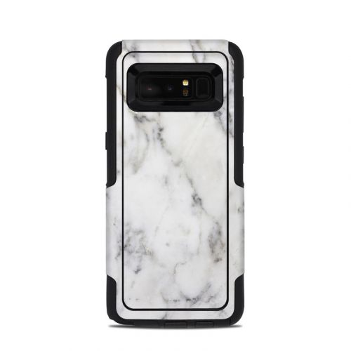 White Marble OtterBox Commuter Galaxy Note 8 Skin