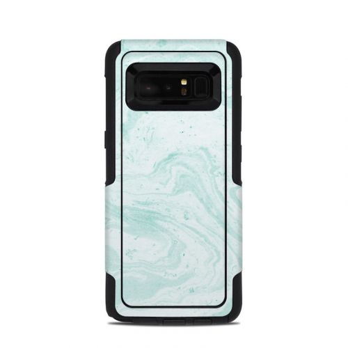 Winter Green Marble OtterBox Commuter Galaxy Note 8 Skin