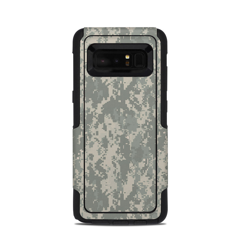 OtterBox Commuter Galaxy Note 8 Case Skin design of Military camouflage, Green, Pattern, Uniform, Camouflage, Design, Wallpaper with gray, green colors