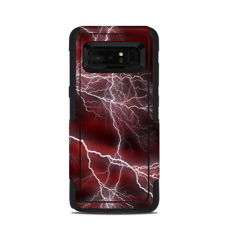 Apocalypse Red OtterBox Commuter Galaxy Note 8 Skin