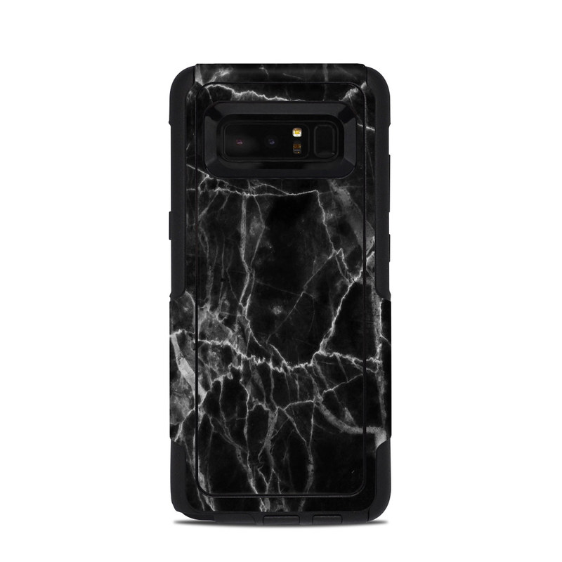 Black Marble OtterBox Commuter Galaxy Note 8 Case Skin