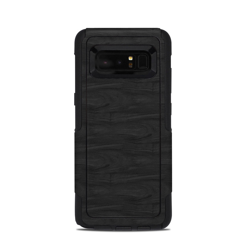 Black Woodgrain OtterBox Commuter Galaxy Note 8 Case Skin