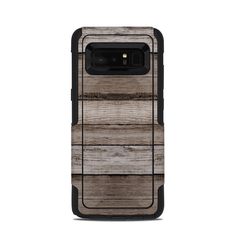 Barn Wood OtterBox Commuter Galaxy Note 8 Case Skin