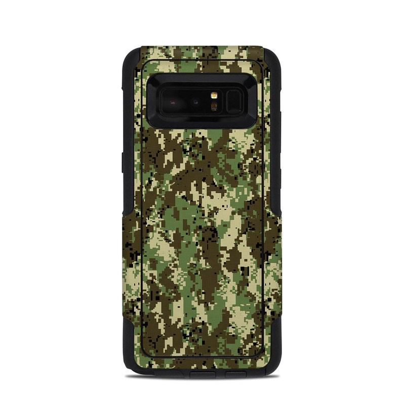 Digital Woodland Camo OtterBox Commuter Galaxy Note 8 Case Skin