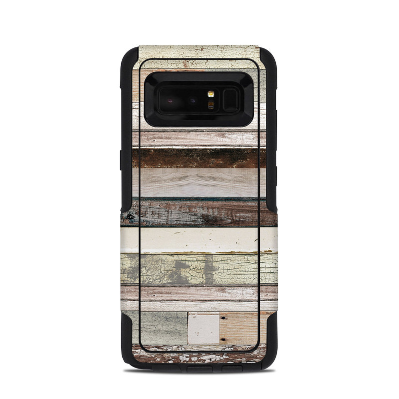 Eclectic Wood OtterBox Commuter Galaxy Note 8 Skin