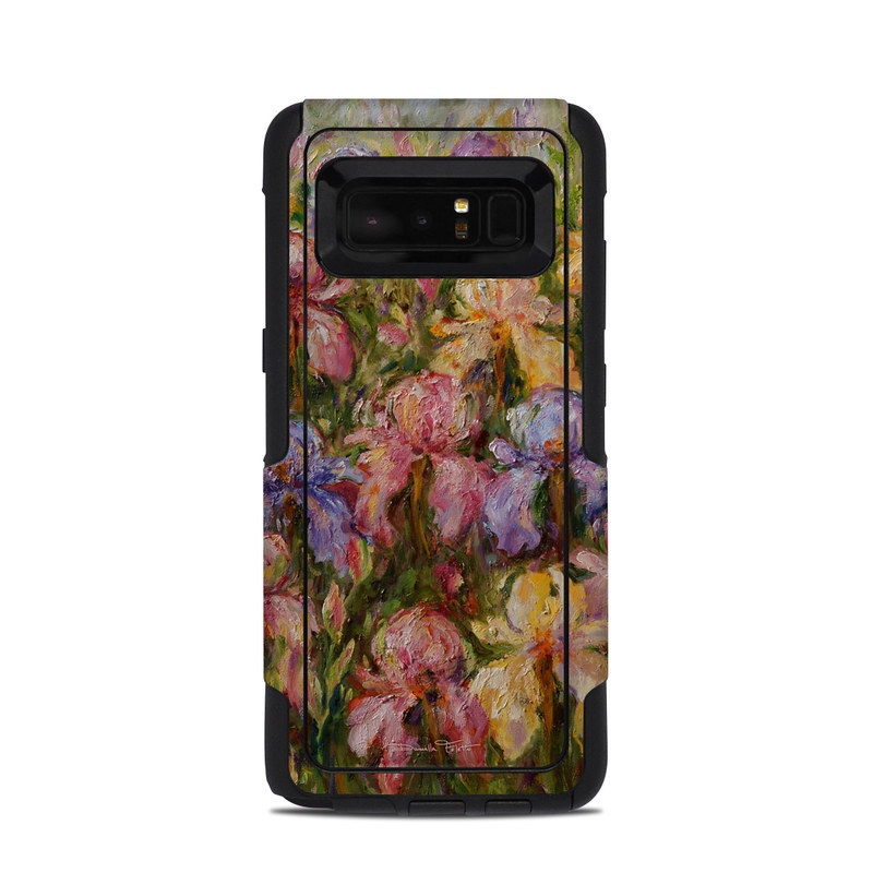 Field Of Irises OtterBox Commuter Galaxy Note 8 Skin