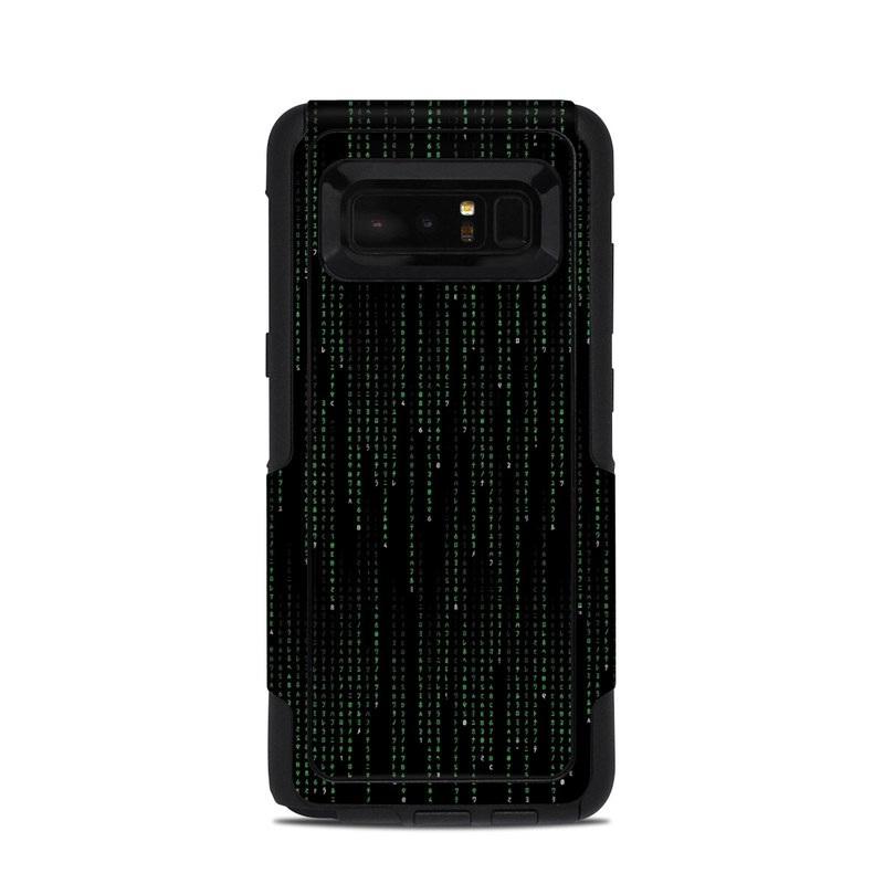Matrix Style Code OtterBox Commuter Galaxy Note 8 Case Skin